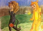 Something wrong with my costume Ron? by sugarfr0st
