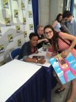 Me and Aisha Tyler by Kataang102