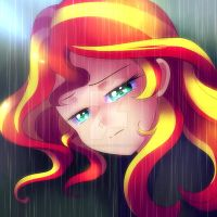 Sunset Shimmer Water Theme by Jacky-Bunny