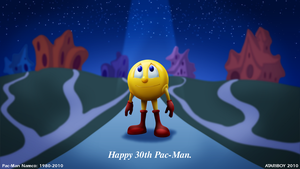 Happy 30th Pac-Man. by Atariboy2600