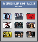 TV Series Folder Icons - Pack 25 by DYIDDO