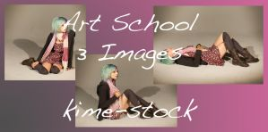 Art School 2 by kime-stock