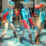 Cammy White from Street Fighter at LB Comic Con by trivto