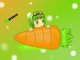 Gumo and is carrot 8D by linkinounet62