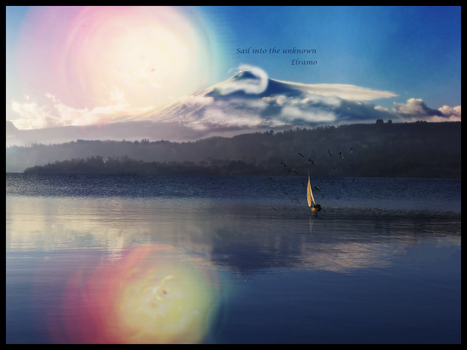 Sail into the Unknown by Elramo