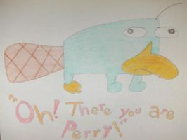 Perry the Platypus by moonybabe