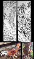 Bookmark Rooster by SProffitt