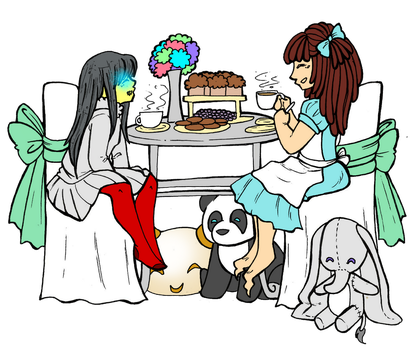 Tea Party By Kowaisenpai by Cloth-King