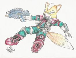 Fox McCloud by GraphiteFalcon