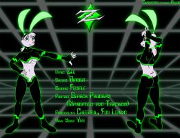 Zee the Cyber Bunny by Aelius24