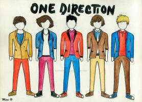 One Direction by cherrycharm