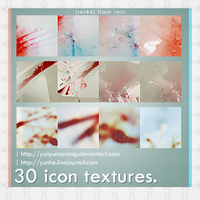 30 icon textures - flash rain by yunyunsarang