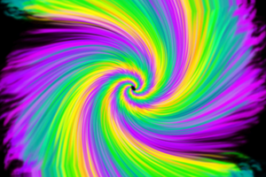 neon spiral by nova-images