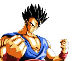 Ultimate Gohan by crazypalette