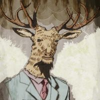 Stag Head by megapowerskills