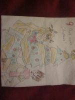 Lunch Napkin Notes - Rapunzel and Flynn by KZKOrdinance
