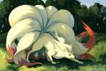 Ninetales by bluekomadori