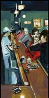 Dougherty's Pub again by GANTart