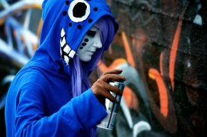 Vocaloid: Graffiti by KelevarCosplay