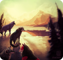 Mountain Pass - Collab Commission by Anti-Dark-Heart