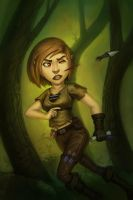 The Halfling Courier by stonepro