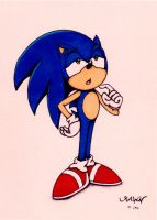 Sonic: Skeptic by RAWN89