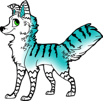 Dog Adoptable 2 -CLOSED- by FlyCatty-Adopts