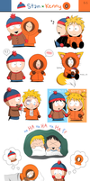 SP: Stan x Kenny artdump by Endless-Rainfall