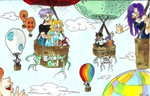 'Contest entry: Charisma's Bday 'up in the air' by Swamnanthas