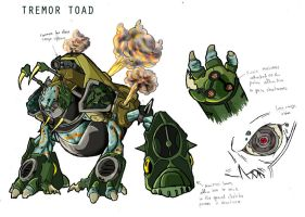 noise: Tremor Toad by JazylH
