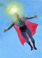 Superman benediction by Nick-Perks