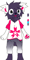 Anthro week: cherry ref by Pand-ASS