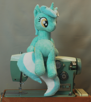 Sitting Lyra #3 by WhiteHeather