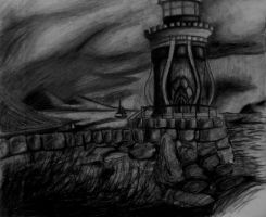 The Lighthouse of Darkness by Oswulf