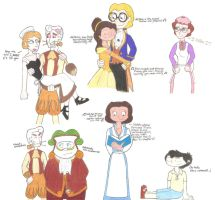 WordGirl + Beauty and the Beast Crossovers by VoiceActressKurutta