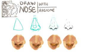 Drawing Nose Tutorial Part 1 by ArgioneDunbalack