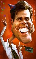 Jim Carrey by JeffStahl