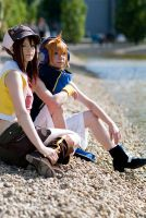 Neku and Shiki - lets rest by Firiless
