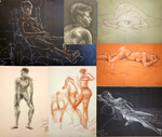 Figure Drawing - Spring 2015 by jani-lee
