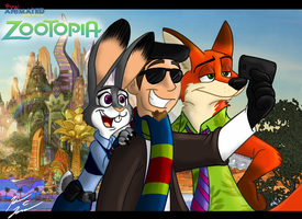 HAMR - Zootopia Title Card by HewyToonmore