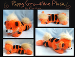 Puppy Growlithe beanie - SOLD by Lady-Von-Derpington