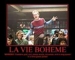 Rent Demo- La Vie Boheme by Trekkie-By-Birth