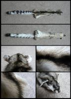 Ringtail Cat Pelt by CabinetCuriosities