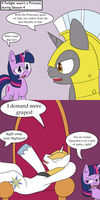 If Twilight wasn't a Princess during Season 4 by jake-heritagu