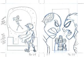 Teen Titans book_pgs24 and 25 by tombancroft