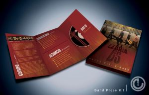 Band Press Kit by emtgrafico