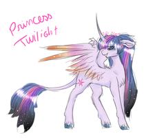 Princess Twi .:earthsong9405 style:. by MissMagicalWolf