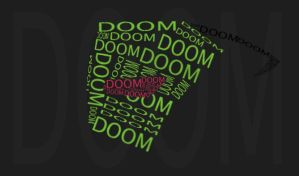 DOOM.... WITH ZIM'S HEAD. by InvaderAli87