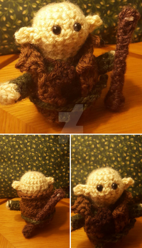 Amigurumi Solas: Dragon Age Inquisition by PerilousBard