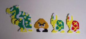 Super Mario magnets by Raggletag